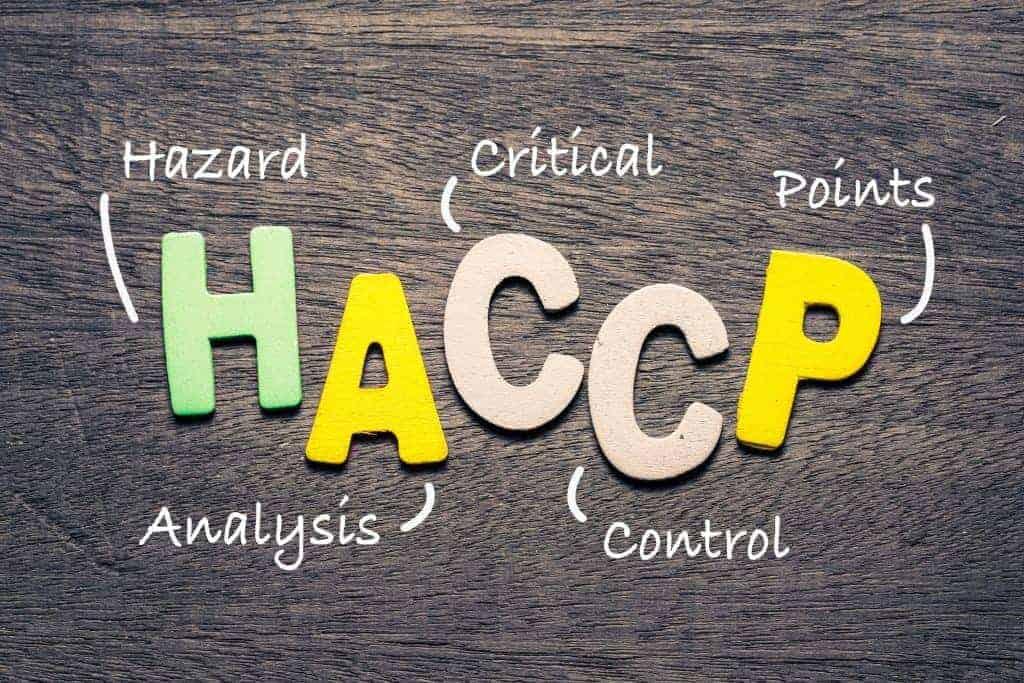 Level 2 Award in Understanding HACCP