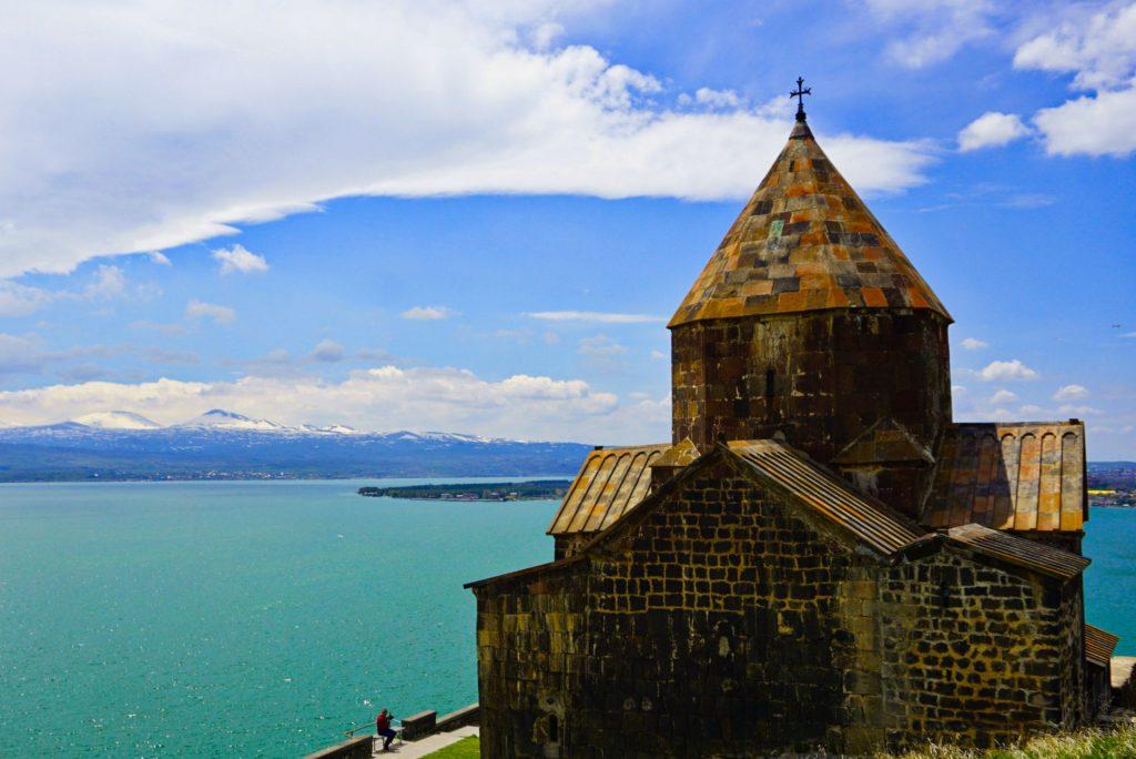 Sevanavank, Sevan lake monastery, Armenia