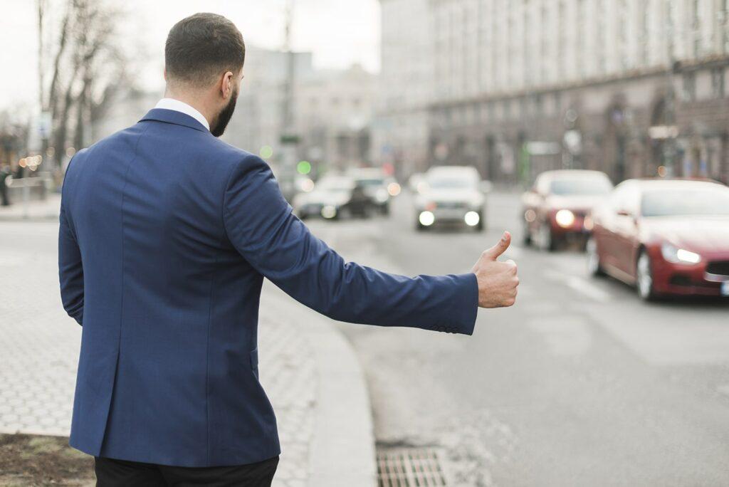 Смуги громадсько транспорту і таксі