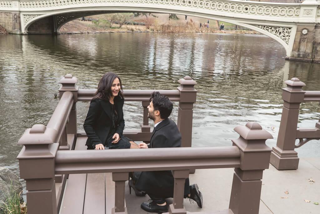 Photo 2 Bow Bridge Surprise Proposal | VladLeto