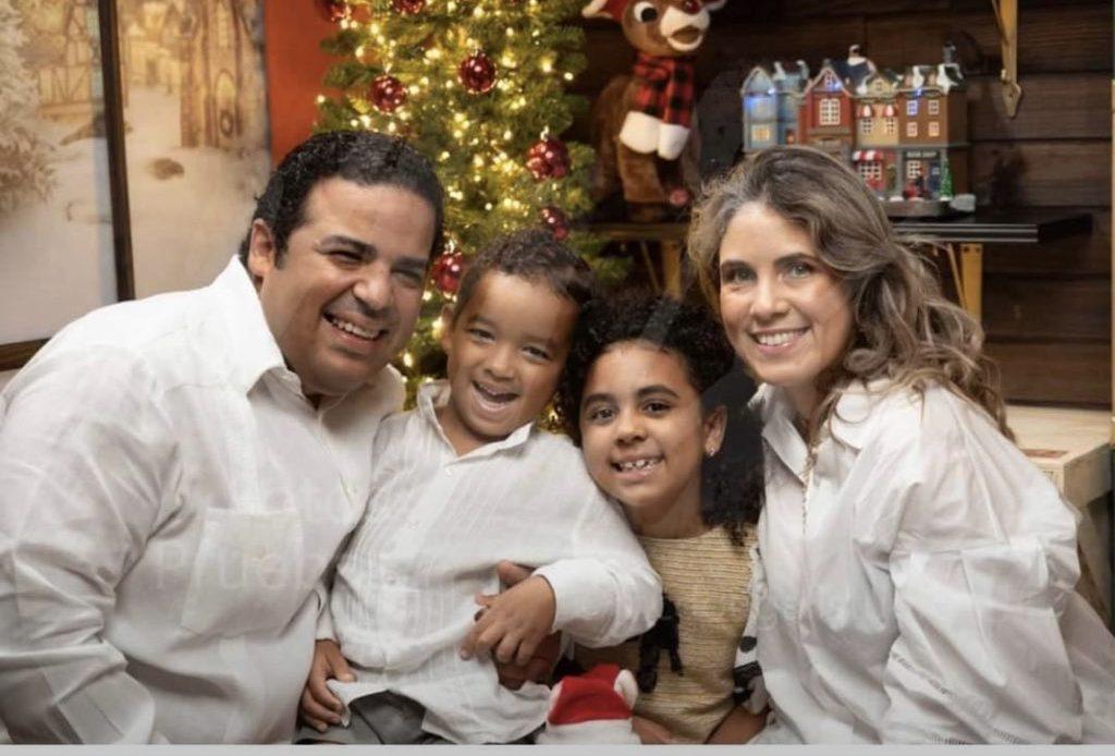 Familia Ávila Gil, accidentada en La Romana