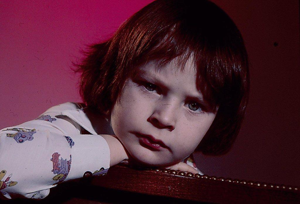 Harvey Stephens as Damien in The Omen (1976)