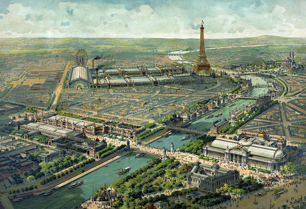 Weltausstellung Paris 1900 Art Nouveau Lucien Baylac (1851–1913)