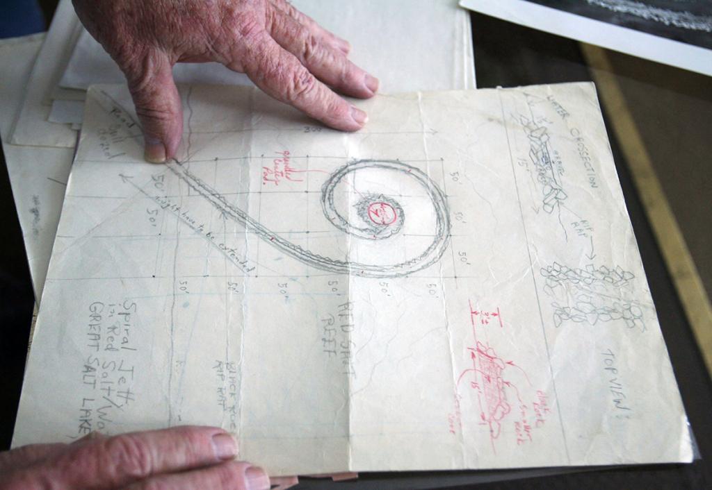 New Interview Footage of Robert Smithson His Late Work – ARTnews.com