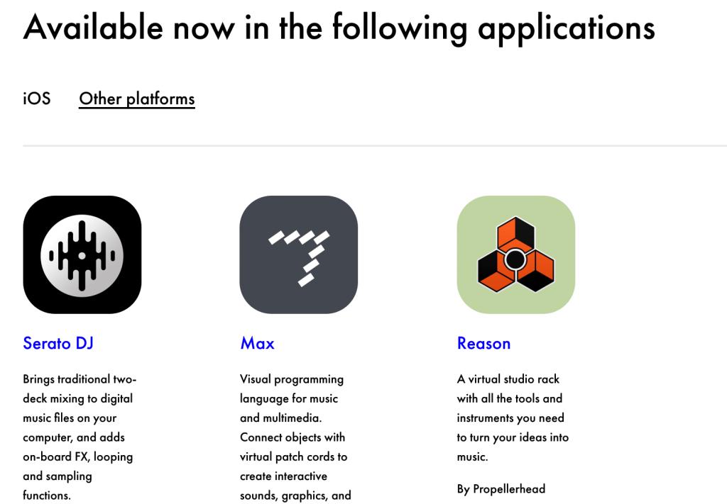 """Meet """"other platforms."""""""