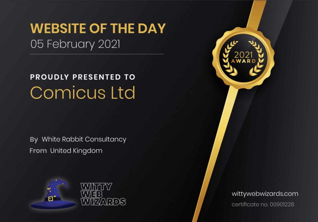 WOTD Web Design Award