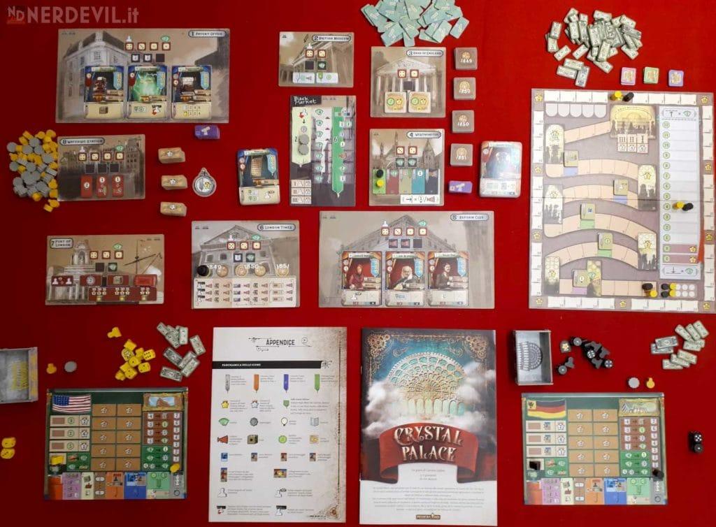 crystal palace gioco setup