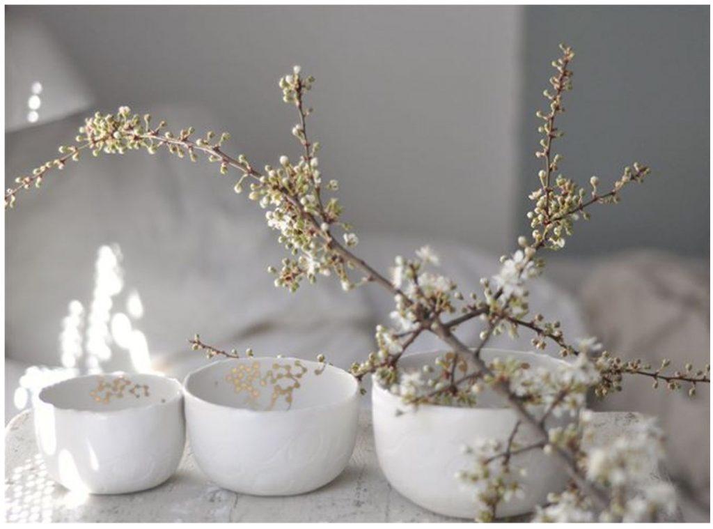 Kolekcja porcelanowych miseczek Moon | design: Myriam Ait Amar