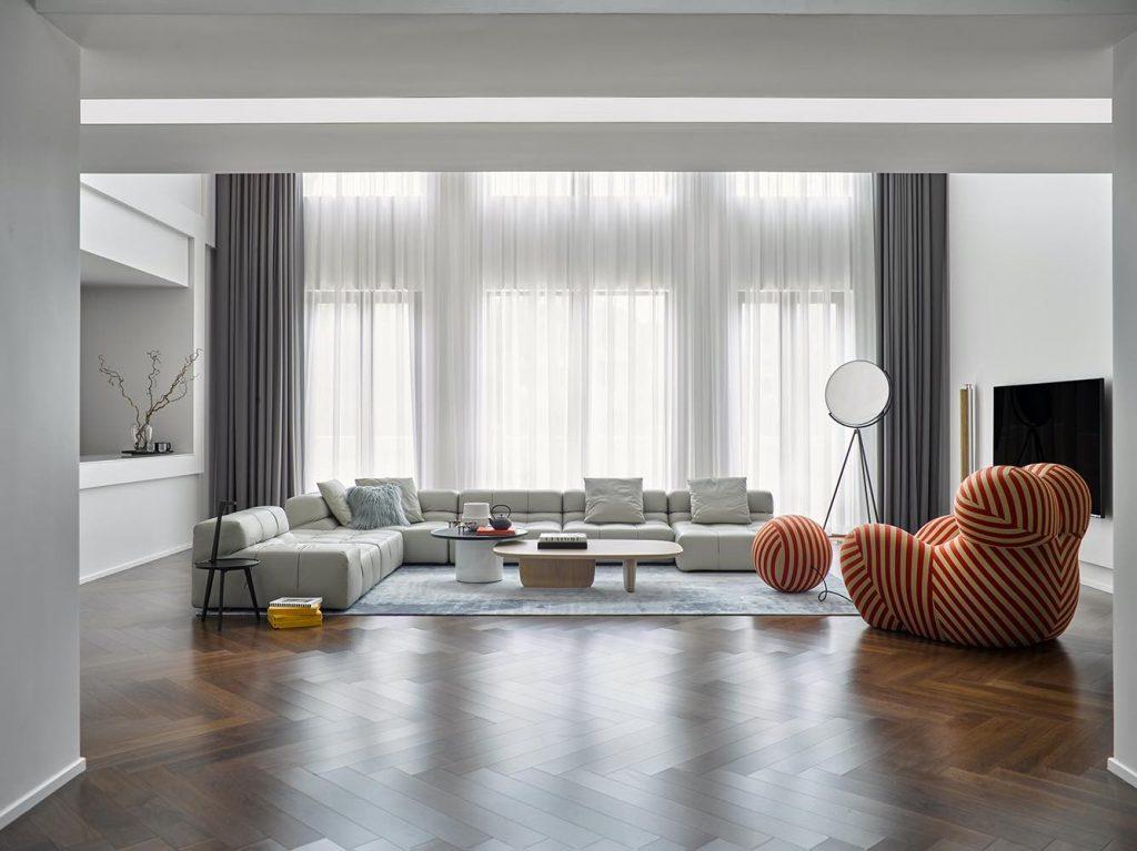 Interior Design: 8c_art_space Photo: zhuhai