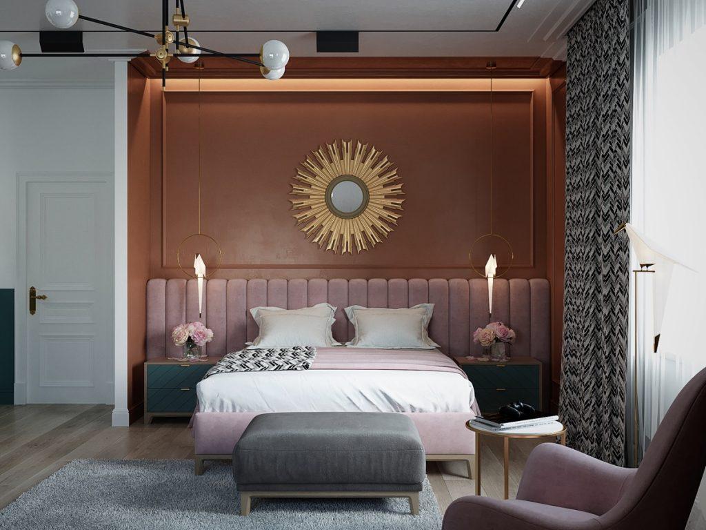 luksusowa sypialnia wizualizacja Alexander Savinov