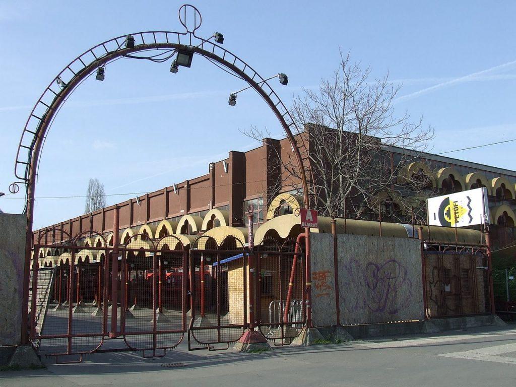 Petőfi Hall, building, city park