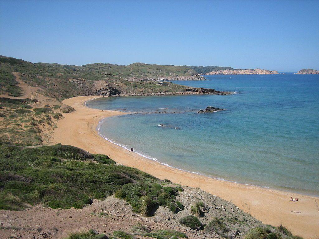 Playa de Cavalleria en Menorca