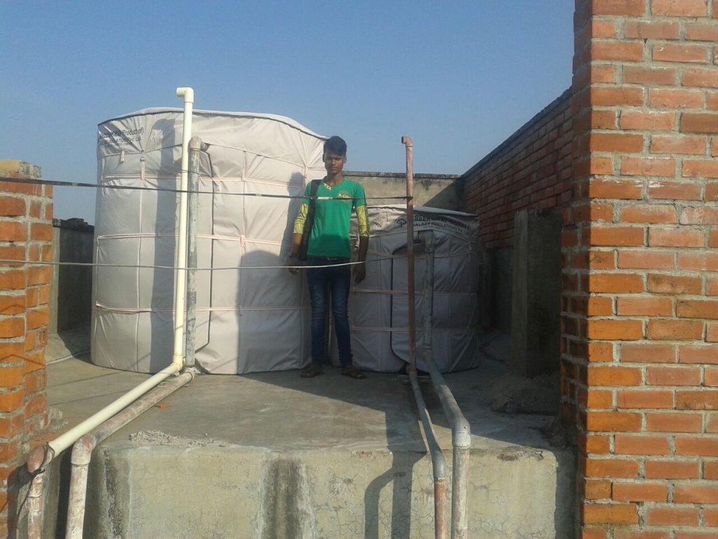 عزل خزانات المياه بجدة