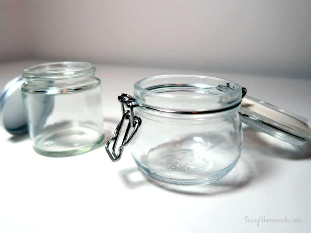 candle making jars