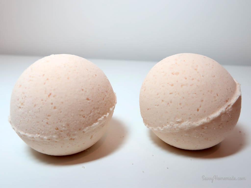 homemade bath bombs