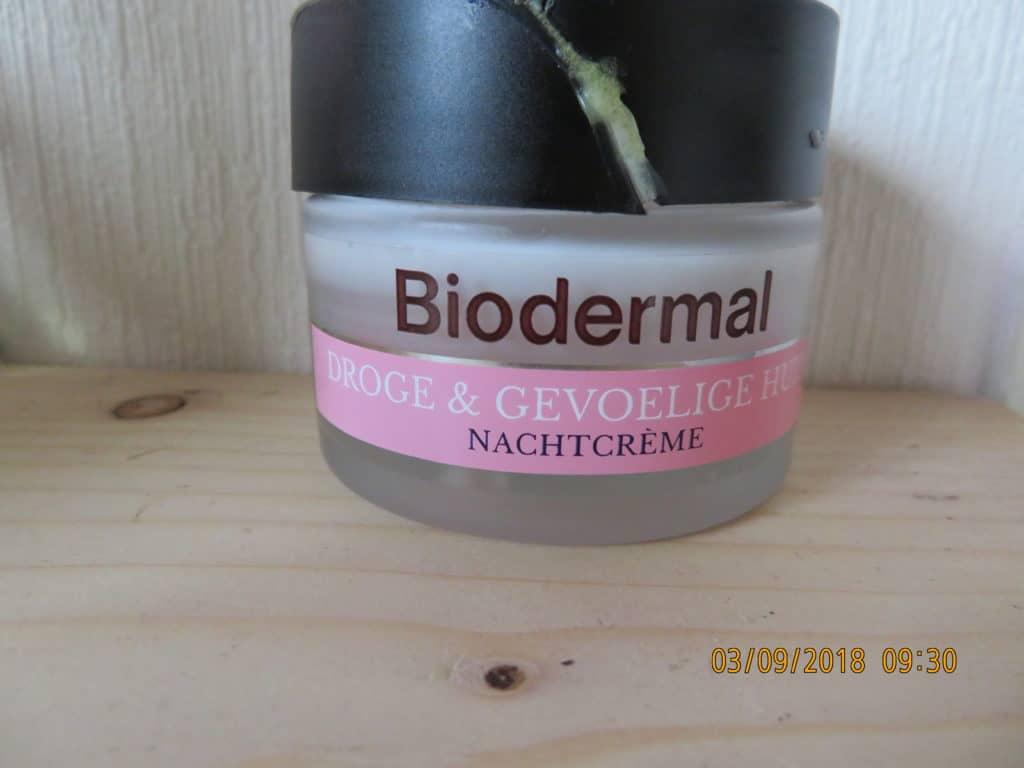 Nachtcreme biodermal