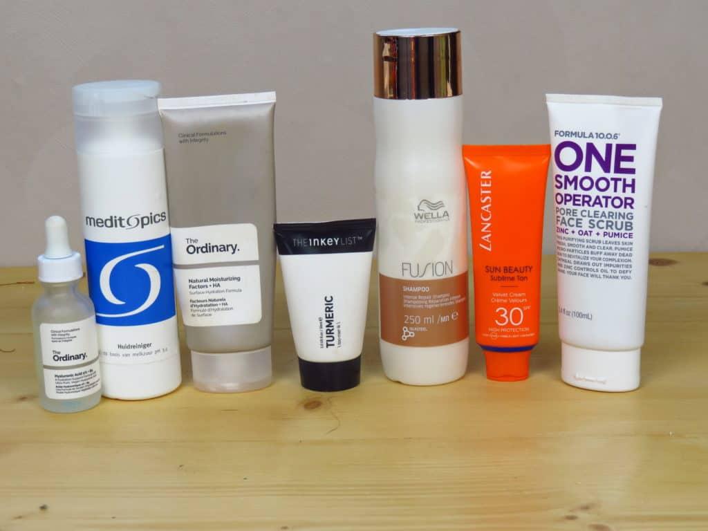 Favoriete huidverzorgingsproducten 2019