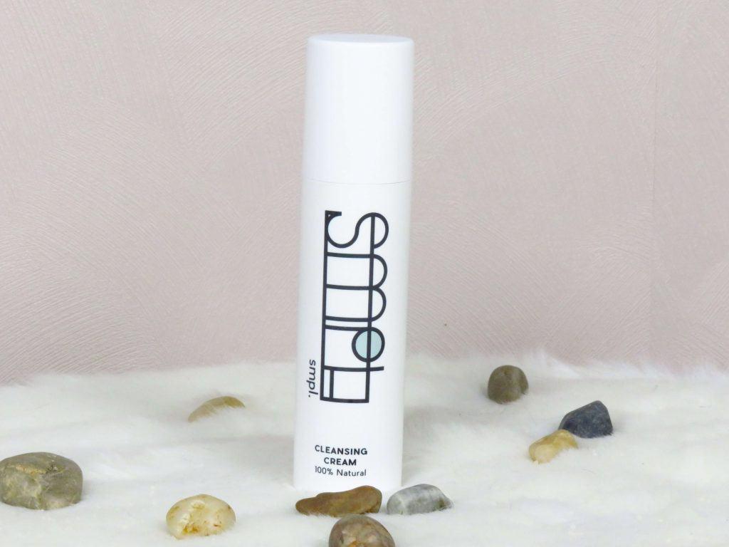 SMPl cleansing cream, 100% natuurlijk, dierproefvrij, vrij van parabenen, synthetische stoffen en essentiële oliën