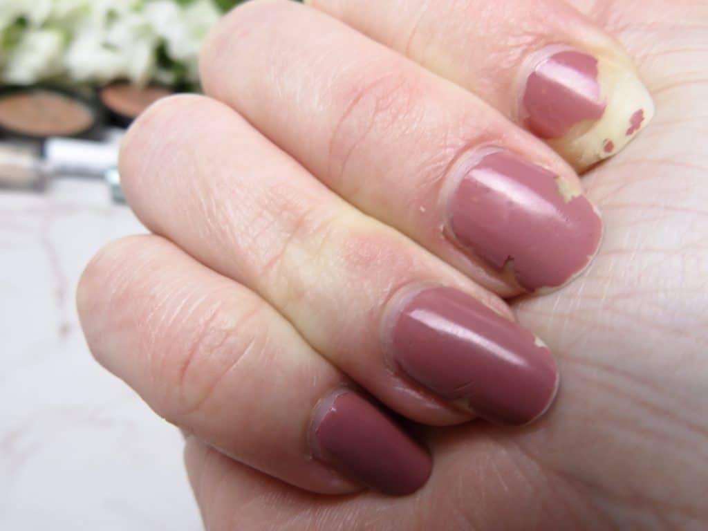 Swatch na 7 dagen loreal paris color riche in de kleur roze ballet