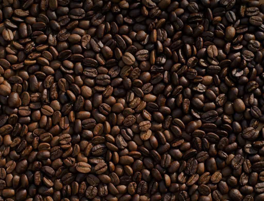 koffiebonen, koffie-extract