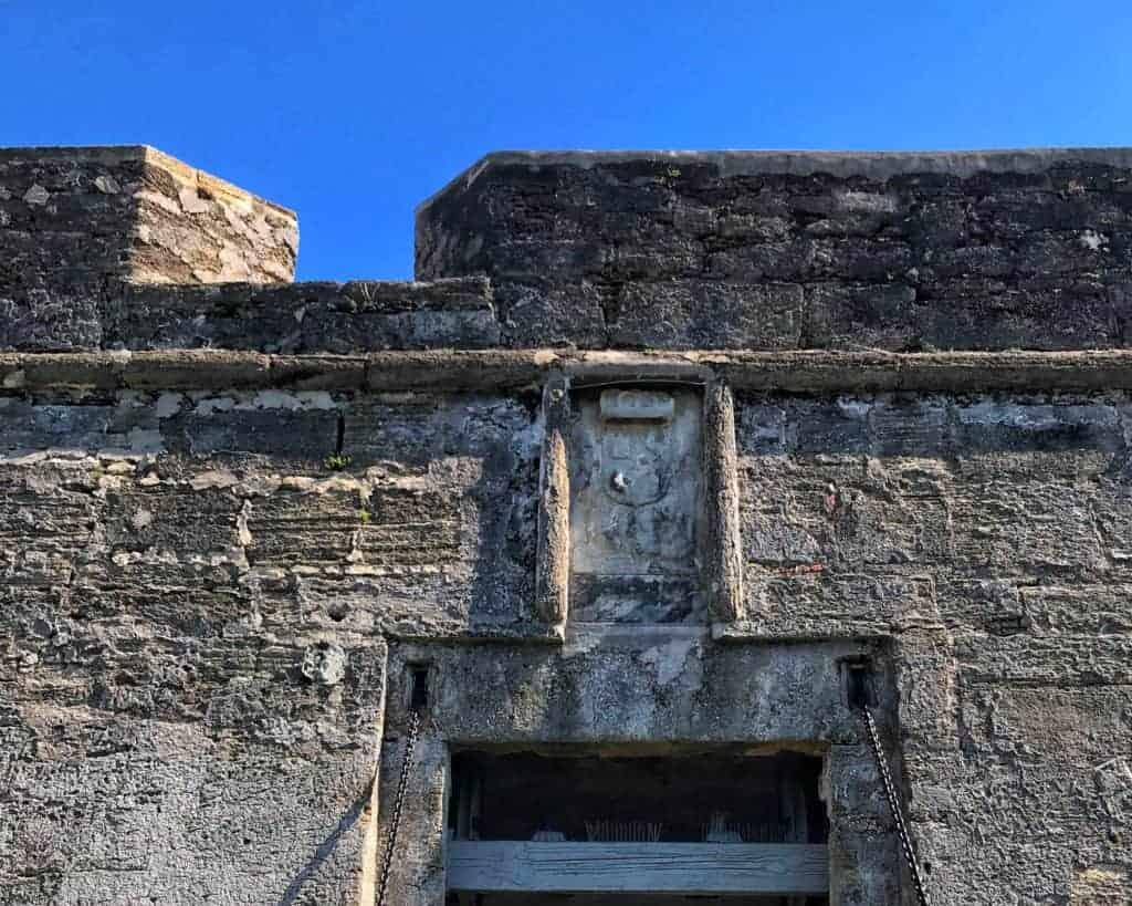fort exterior masonry block