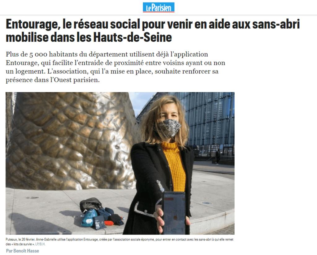 Le Parisien OlaTaNea Kits de Survie pour SDF