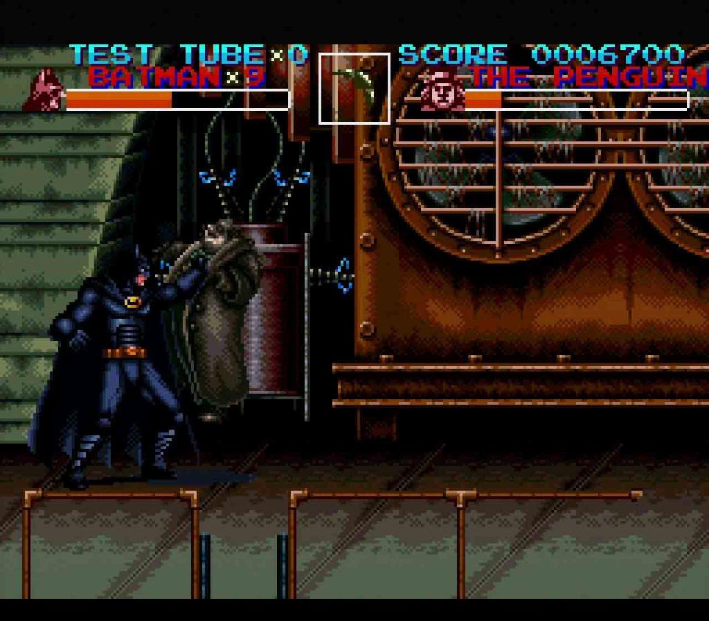 batman returns snes ending