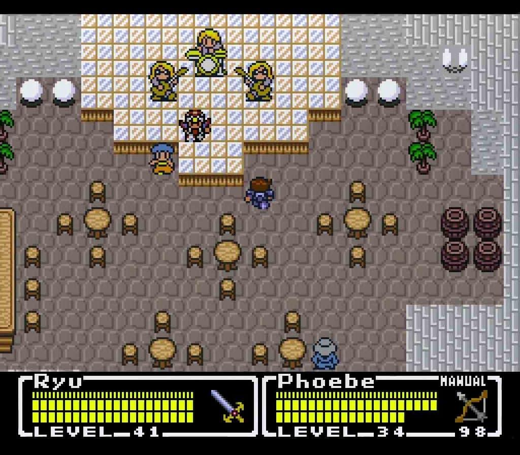 final fantasy mystic quest legend ending