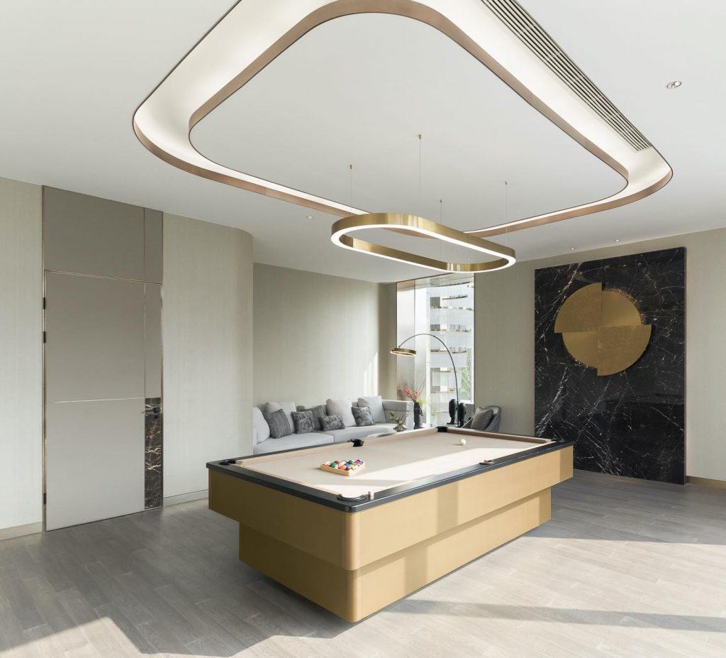 Billiard Room_1st floor studio marco piva