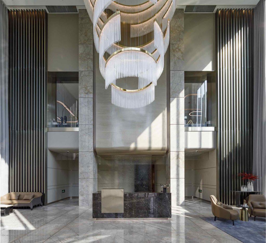 4_Huzhou_Lobby Reception_Ground floor studio marco piva