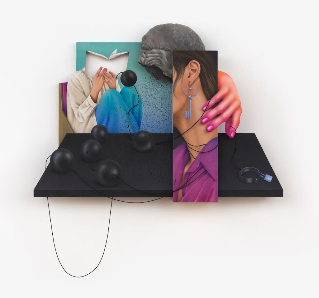 In Arghavan Khosravi's Multipart Painting, Freedom is a Key – ARTnews.com