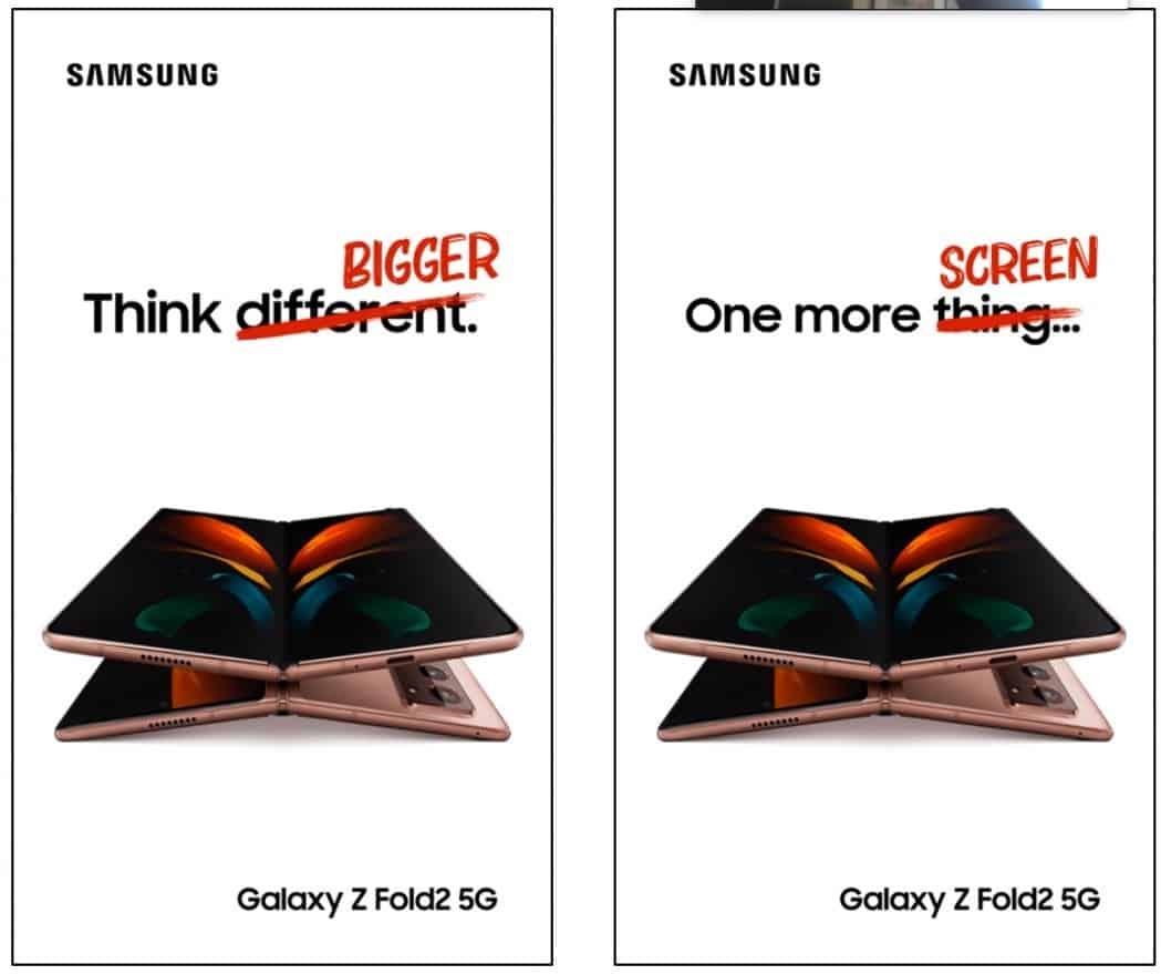 Samsung gozar com a apple