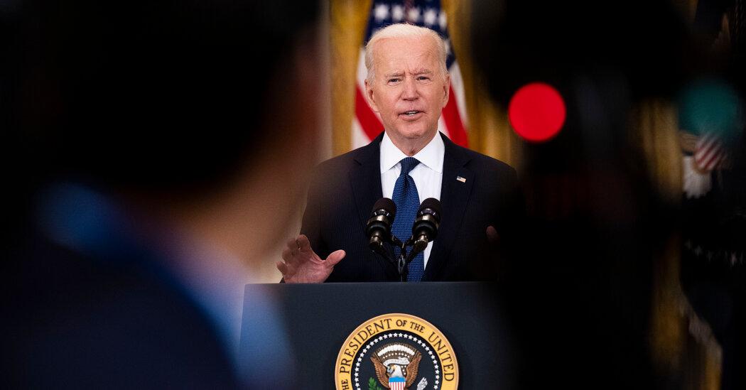 Biden Defends Unemployment Benefits, Provided Workers Accept Job Offers