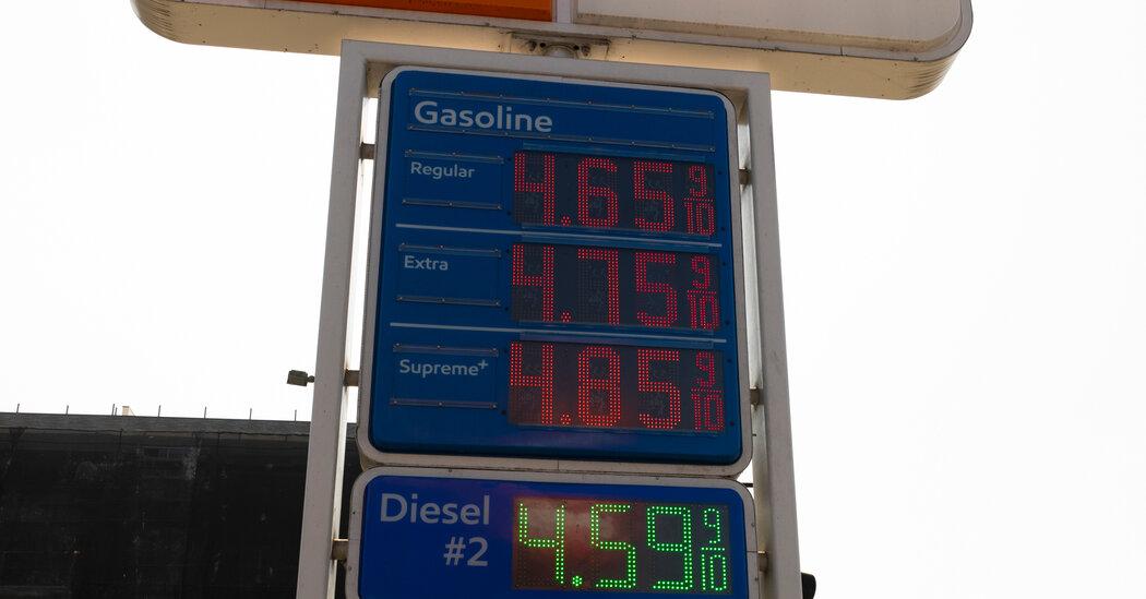 Gas Price Increase Poses Challenge to U.S. Economy