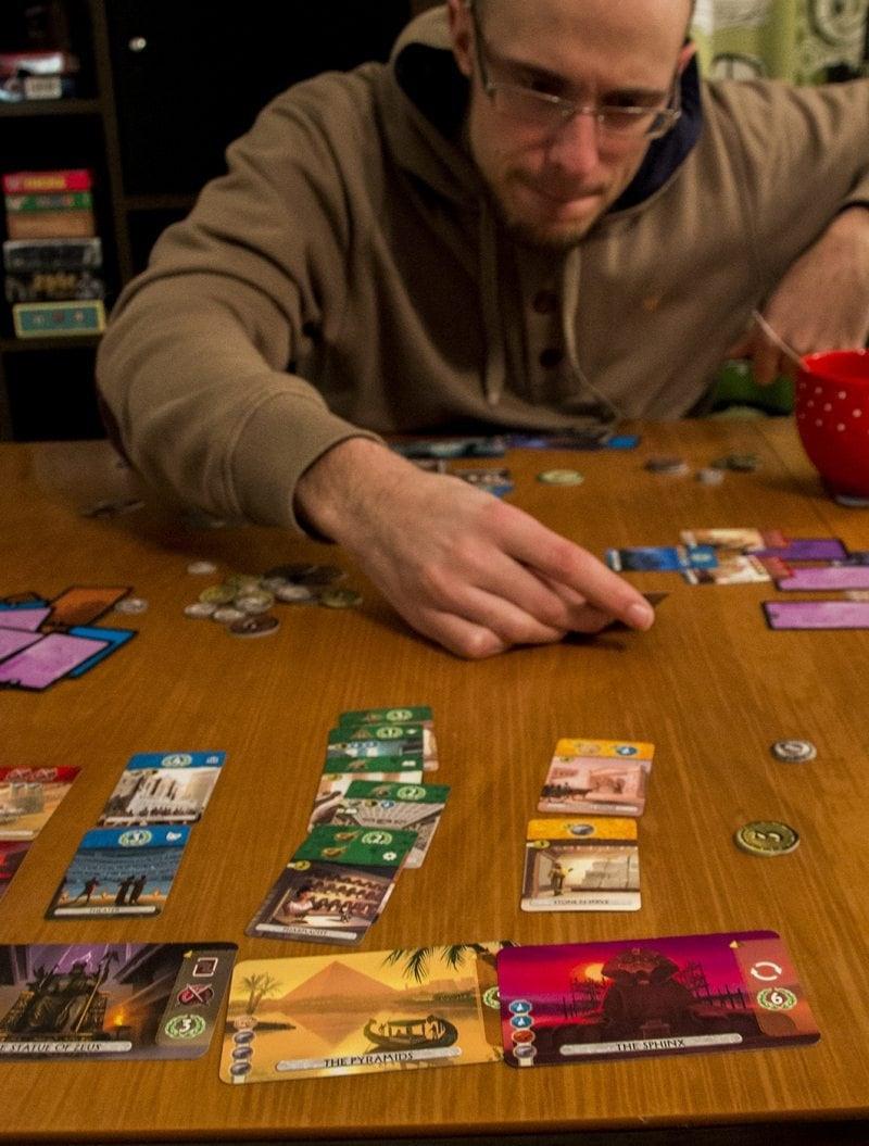 7 wonders: duel valinta
