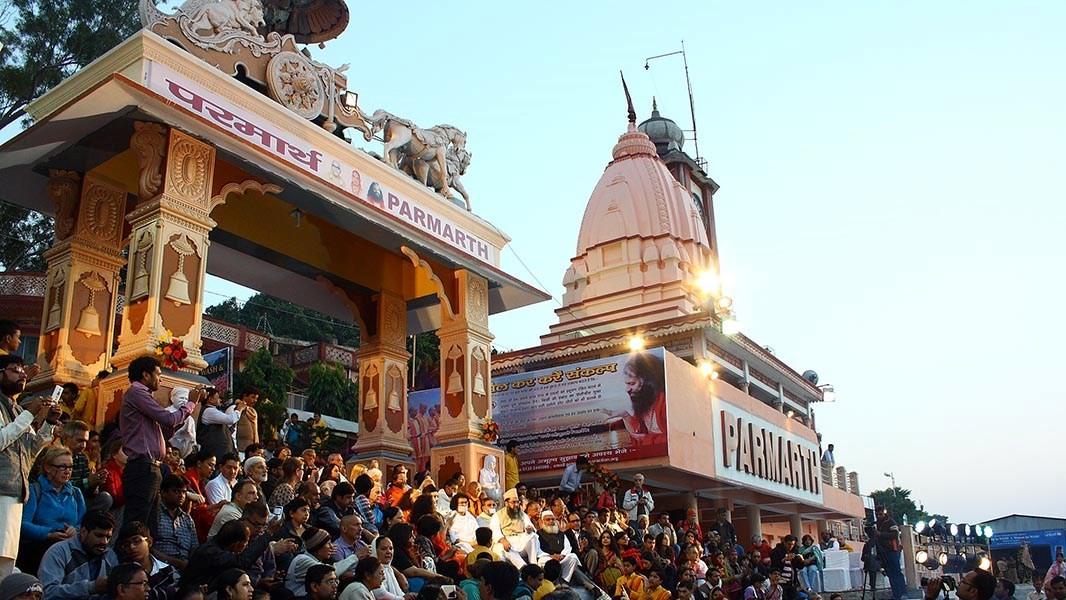 triveni ghat rishikesh aarti