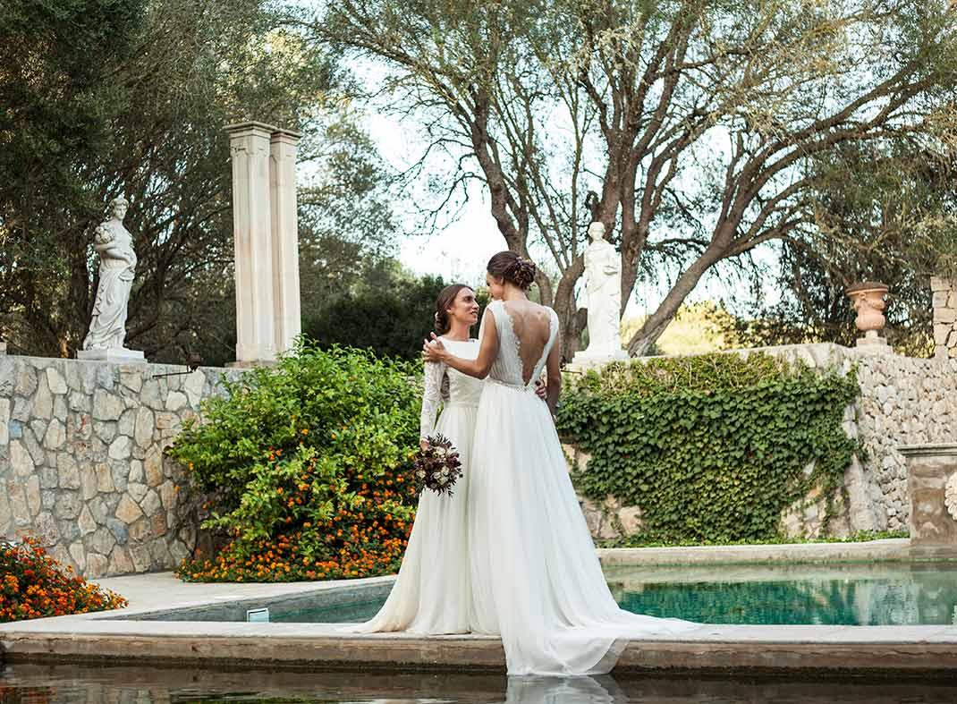 fotógrafos de boda LGBT en Mallorca pareja