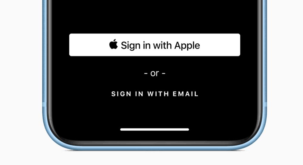 Rychlé, snadné a soukromé přihlášení s Applem