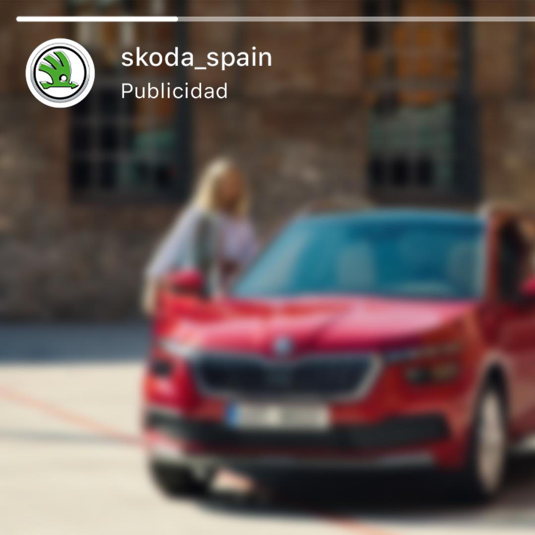 Campaña de Social Ads para Skoda
