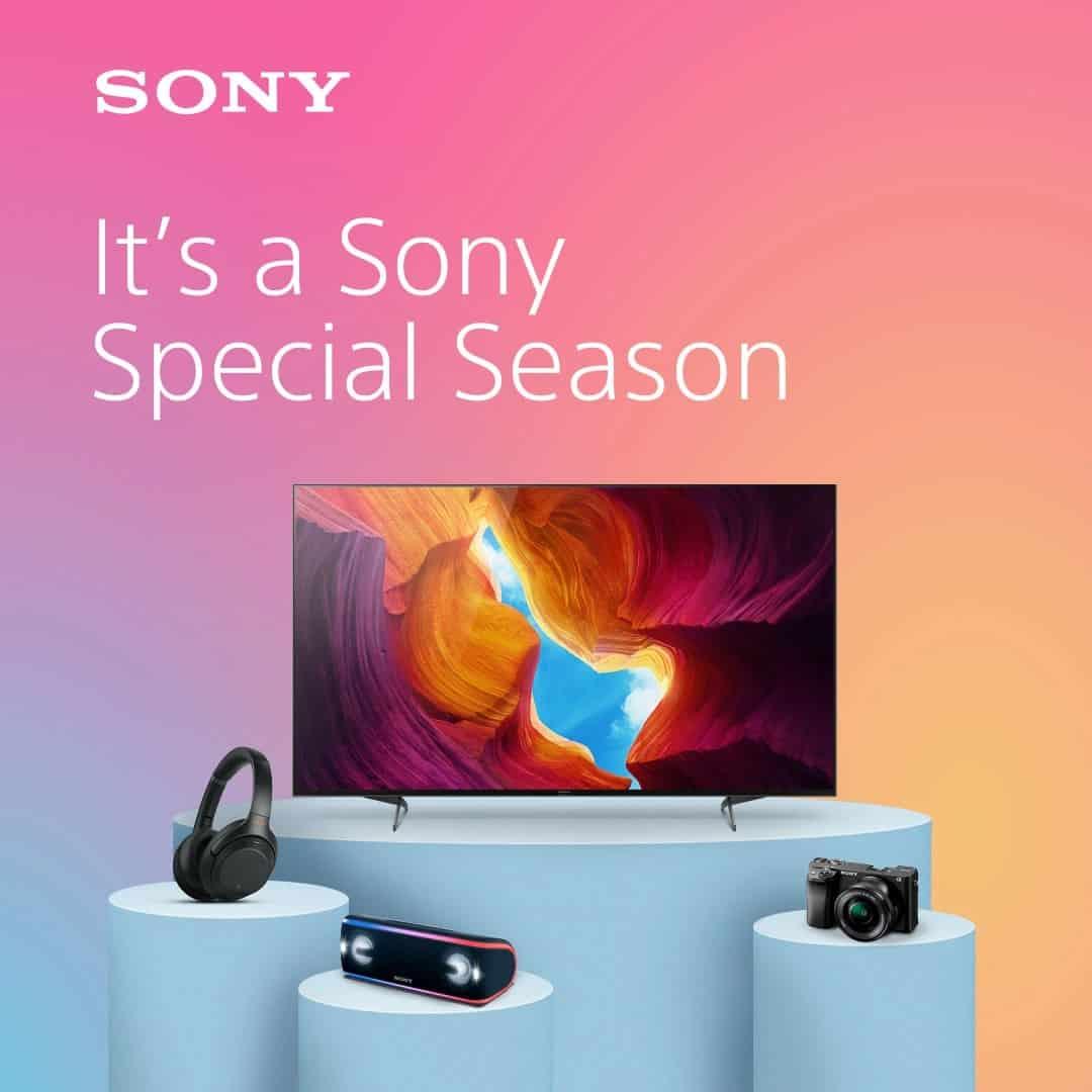 Sony campanha verão
