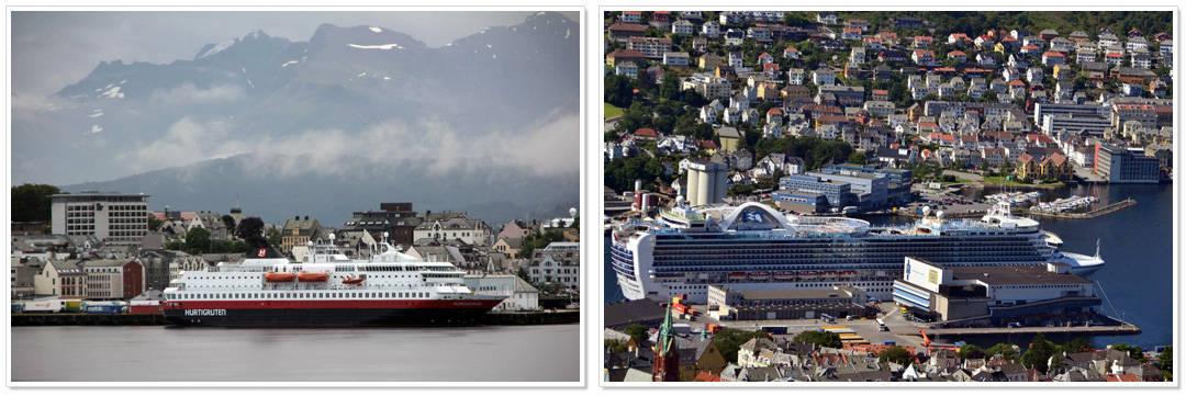 Cruise naar Noorwegen