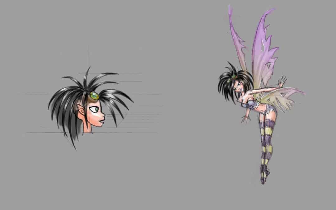 Sprite character design