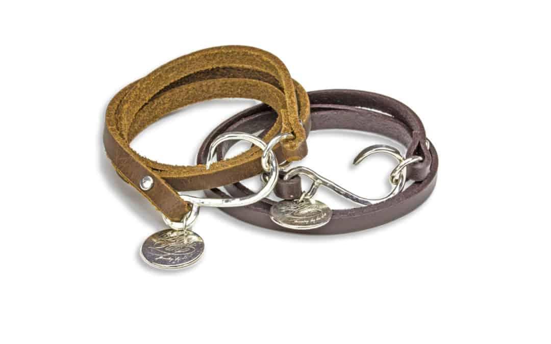 Silver Barbless Circle Hook Wrap Bracelet (+ Wire Wrap Tutorial)