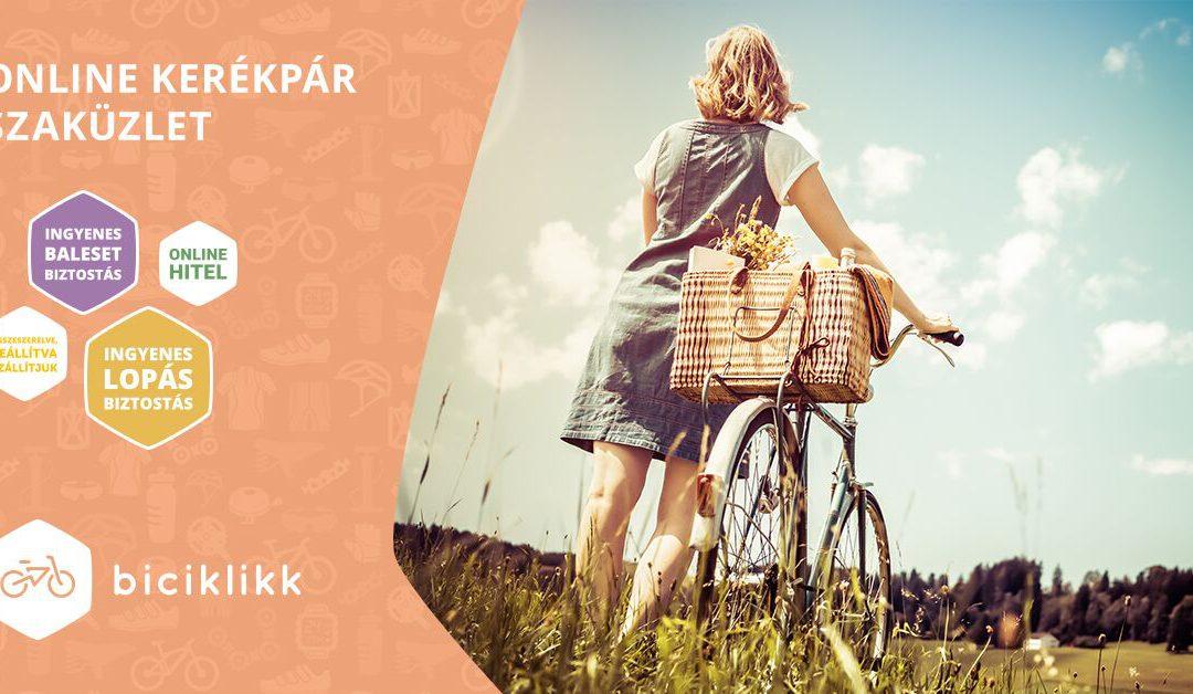 Bicikli bérlés az Aranypart Campingben