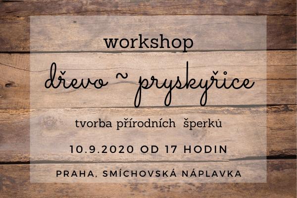 Dřevo & Pryskyřice WORKSHOP