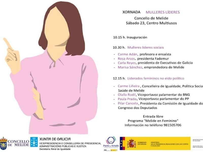 Executivas de Galicia participa na xornada Mulleres Líderes este sábado en Melide