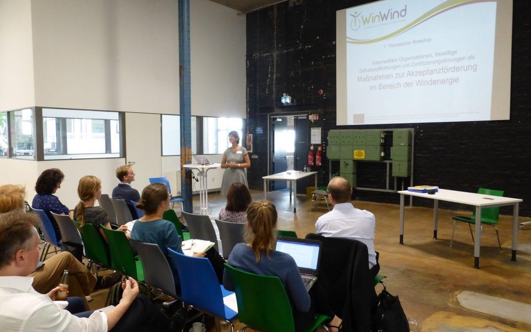 Teilnahme an Workshop in Leipzig