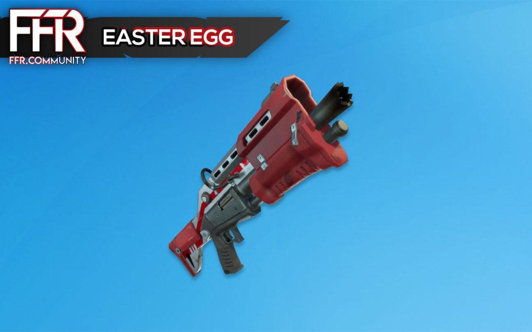 Fortnite : Easter Egg du fusil à pompe tactique