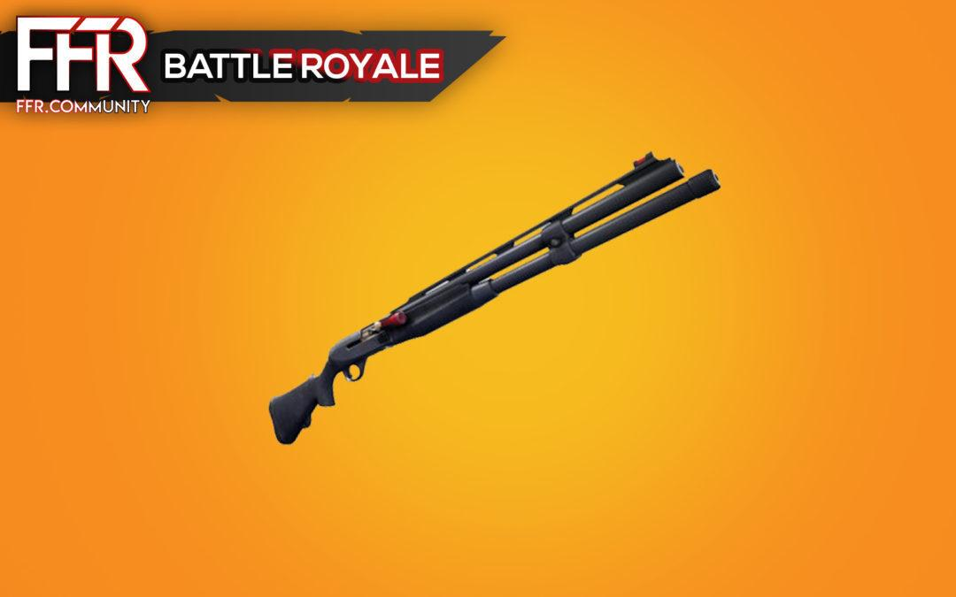 Fortnite : Le départ du fusil à pompe de guerre, un coup de marketing ?