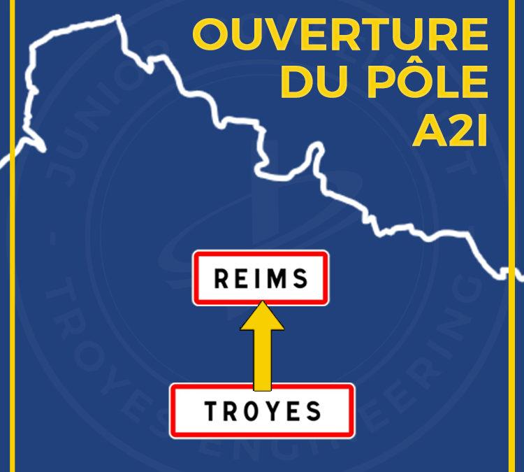 Ouverture d'une nouvelle antenne à Reims